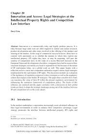 (PDF) Innovation and Access: Legal Strategies at the Intellectual ...