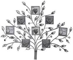 image is loading multi photo 8 frame silver metal jewel family  on silver metal wall art trees with multi photo 8 frame silver metal jewel family tree wall art mounted