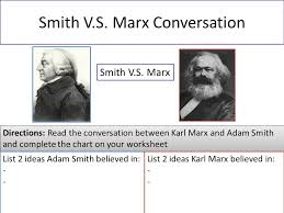 aim what philosophies come from the industrial revolution ppt  10 smith v s marx conversation