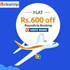 Customers under this offer will get attractive discount on flights, hotels, and bus booked till 31st december, 2021 using hdfc bank credit cards/debit cards. Save Rs 600 On Domestic Flight Via Hdfc Credit Card Roundtrip Offer International Flight Booking Traveling By Yourself Domestic Flights