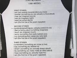 I Am Poems I Am Poem Model Ms Clines Website