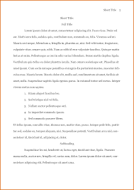 Apa Formatted Paper Template Choice Image Free Templates For