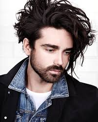 long top um sides wavy texture morrismotley and long curly messy hairstyle for men