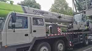 Zoomlion 50 Ton Crane Load Chart Hydraulic Truck Mounted Crane Zoomlion 60 Ton