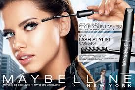 beautiful brazilian fashion model adriana lima modeling for maybelline fashion ads modeling as one of the