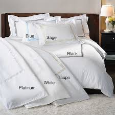 hotel collection duvet covers 300 thread count sateen 3 piece cover set
