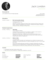 Student Resume Editorial Assistant