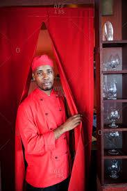 In this sweet cottage kitchen. Kitchen Curtains Stock Photos Offset