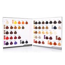Professional Hair Color Swatch With Salon Product Hair Color Chart Buy Hair Color Chart Hair Color Swatch Product On Alibaba Com