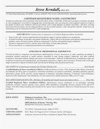 Anesthetic Nurse Sample Resume Awesome Crna Resume Photo Pre Op Nurse Resume Best Resume Templates