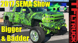 Bigger & Badder: Cool Cars and Trucks of SEMA 2017 Previewed - YouTube