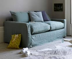 pavilion sofa bed in jade vintage linen