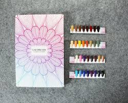 Anc Nails Color Chart Acrylic Fabrication Retail Store Shelves And Displays