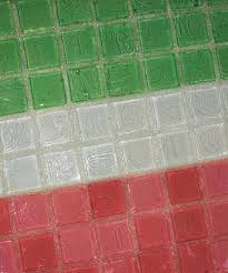 grout for glass mosaic tile crystal glass grout creates a chameleon effect with your colored glass