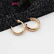 <b>Carvejewl Drop Dangle Earrings</b> Big Oval Circle Stamping earrings ...