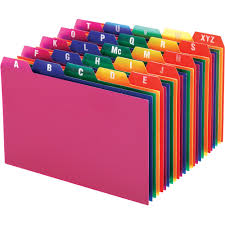 tab index cards oxford a z poly filing index cards mac papers inc