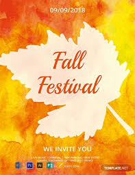 Fall Flyer Free Fall Festival Flyer Template Word Psd Apple Pages