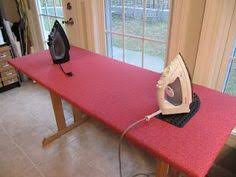 How to Convert a Regular Ironing Board Into a Quilter's Ironing ... & DIY Ironing board/table big enough for quilt tops! this is a great and easy  idea. look for a table at a garage sale or thrift store and make an ironing  ... Adamdwight.com