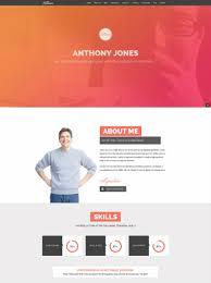 20 Professional Resume Themes For Wordpress Cohhe