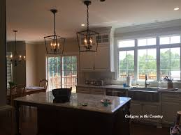 Lantern Lights Over Kitchen Island Calypso In The Country Design Dilemma Of The Week