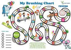 Teeth Brushing Chart Publications By Category Dental Health Foundation