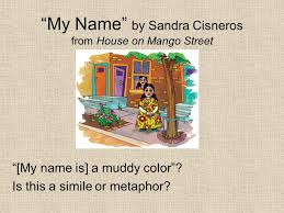 "my "" by sandra cisneros from house on mango street ppt  my by sandra cisneros from house on mango street my is a"