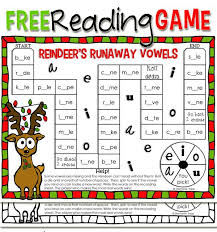 Try these free printable alphabet worksheets. Christmas Reading Game Printable Christmas Reading Christmas Reading Activities Teaching Reading Skills