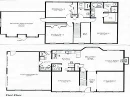 2 Story 3 Bedroom House Plans Small Two Story House Plan