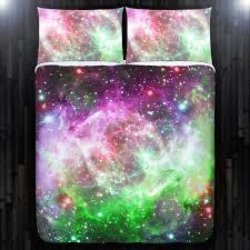 nebula planet galaxy duvet cover
