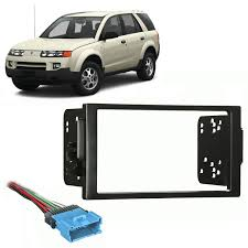 saturn vue radio wiring harness image fits saturn vue 2004 2005 double din stereo harness radio install on 2004 saturn vue radio
