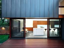 exterior glass wall dazzling decking vogue contemporary exterior inspiration with deck glass walls indoor outdoor metal
