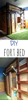 DIY Fort Bed (Minecraft Bed