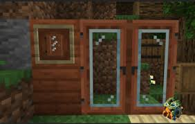 glass door texture pack minecraft pe