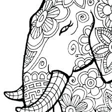 Mandala Coloring Pages For Adults Animal Mandala Coloring Pages