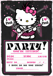hello kitty party invitations com images about cards on plants vs zombies hello invitation samples
