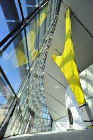 In 2004 future systems won an international competition to design a new museum in modena, italy. Enzo Ferrari Museum Modena Interior Of Glass Facade Complex Geometry Igs Mag Structural Engineering Support Beams Igs