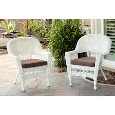 White Wicker Chair (Set of 2) - Free Shipping Today - Overstock.com -  15512862
