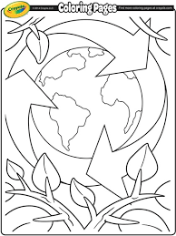 Small Picture Earth Day Recycling Coloring Page crayolacom