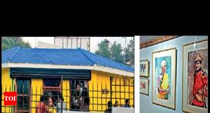abandoned toilet in ooty metamorphoses into art gallery coimbatore news times of india