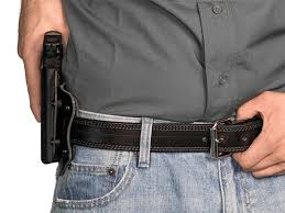 glock 19 cloak slide owb holster outside the waistband