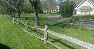 Dig these holes deep enough that 1/3 of each post will be in the ground. Fence Ideas