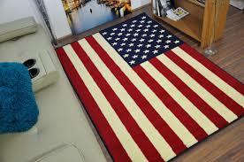 photo 2 of 7 flag rug 2 funky american flag print rug ahoc ltd 2