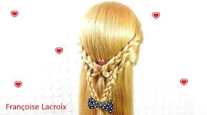 Coiffure Facile Tresse Coeur Easy Heart Braid Hairstyle