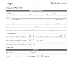 Printable Sample Job Applications 2018 06 Employee Application Form Free Printable Application For