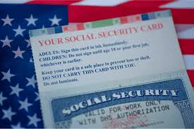 new social security number