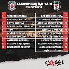 """çArşı on Twitter: """"Beşiktaşımızın 2020-2021 sezonu Süper Lig fikstürü...  Vurduğun gol olsun, sonu şampiyonluk olsun! #Beşiktaş… """""""