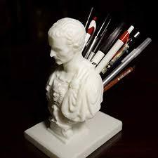 Julius Caesar Pencil Holder Delectable Amazon Julius Caesar PencilPen Holder For Desk Office Products