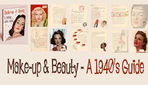 1940s makeup guides