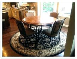 dining room table area rug size area rug under dining room table rug under round dining