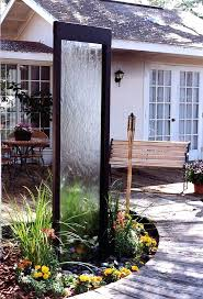water wall diy indoor water wall feature how to build a glass waterfall for your backyard how to build a water wall